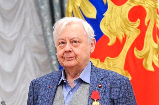 Олег Табаков госпитализирован в реанимацию