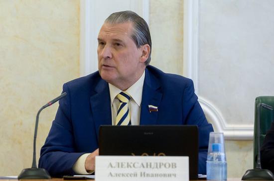 Концепцию уголовной политики России планируют представить в январе 2018 года, заявил сенатор