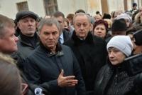 Володин перечислит 10 млн рублей на строительство дома для переселенцев из аварийного жилья