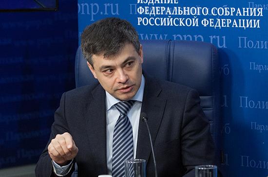 Морозов: реконструкцию и капремонт детских поликлиник возьмут на парламентский контроль