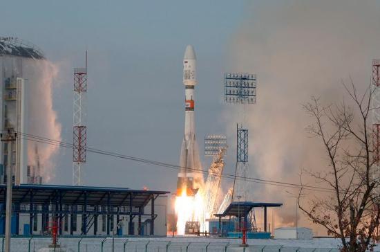 РФ запустила вкосмос обновленную ракету «Союз»