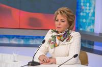 Матвиенко предложила отдельно финансировать вопросы детства при реализации плана кабмина