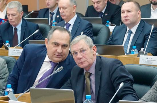 Приморские депутаты будут заслушивать отчёты федеральных чиновников