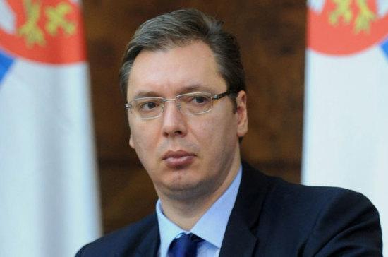 Президент Сербии обсудит с Путиным увеличение поставок российского газа