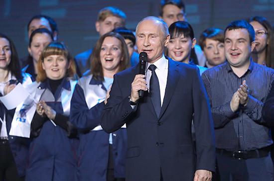 Путин снова пойдёт в президенты