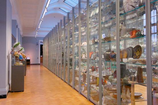 При российских музеях появятся археологические хранилища