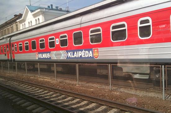 Литва обещает восстановить железнодорожные пути в латвийскую Реньгу в 2019 году