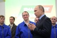Путин призвал формировать спрос на сжиженный газ внутри страны