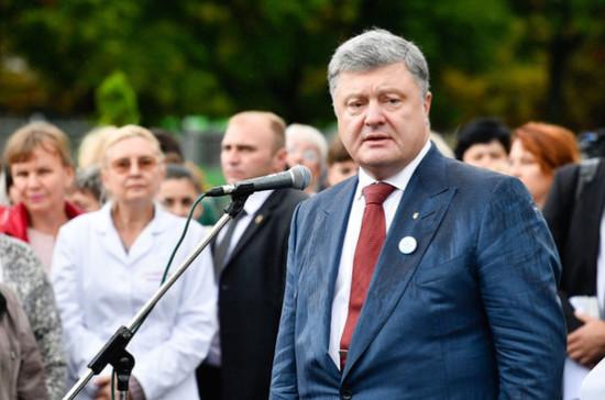 Ситуация сСаакашвили нестоит интернационального внимания— Порошенко