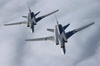 Бомбардировщики Ту-22М3 вернулись в Россию из Сирии