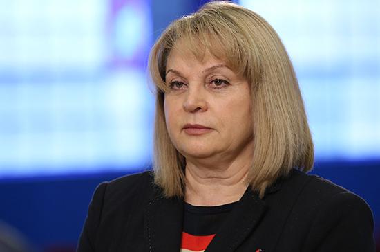 Элла Памфилова поведала олегальных методах поднятия явки навыборах