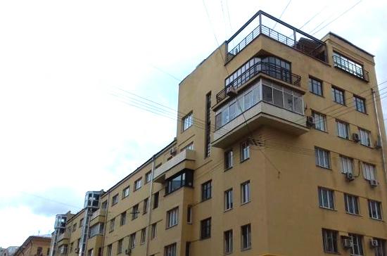 Жилой дом «Сахаротреста» в Москве признали выявленным объектом культурного наследия