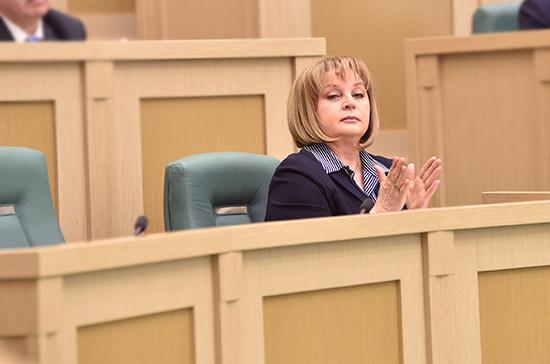 Памфилова назвала стоимость оповещения любого избирателя овыборах