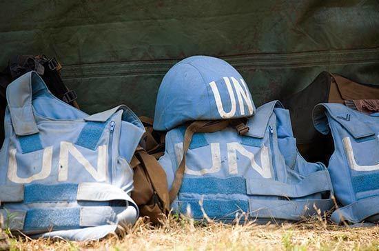 Песков назвал условие появления миссии ООН на Донбассе