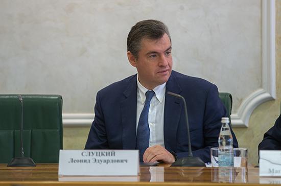 Слуцкий оценил вероятность подачи Россией заявки на работу в ПАСЕ