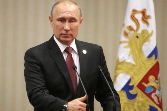 Путин поздравил Московское высшее командное училище со столетием