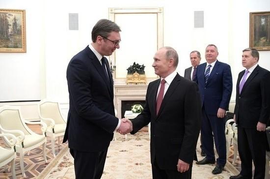 Россия и Сербия договорились о реэкспорте российского газа