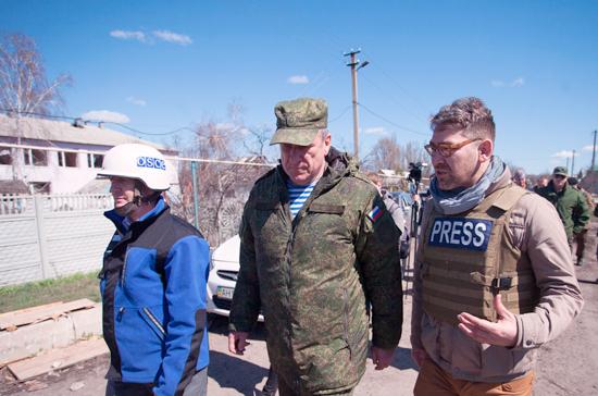 Украинские и российские представители СЦКК покинули территорию ЛНР