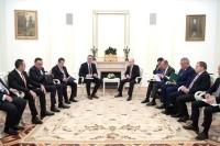 Путин: Москва и Белград прорабатывают возможность участия Сербии в «Турецком потоке»