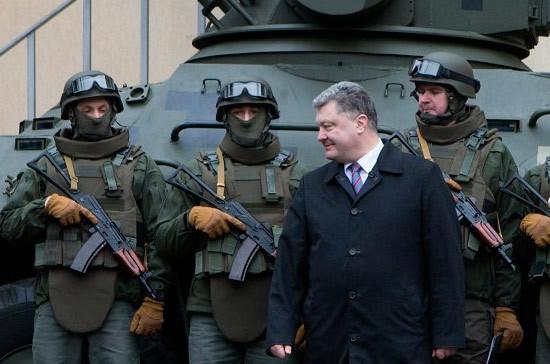 Порошенко на фоне перемирия решил усилить украинскую группировку в Донбассе