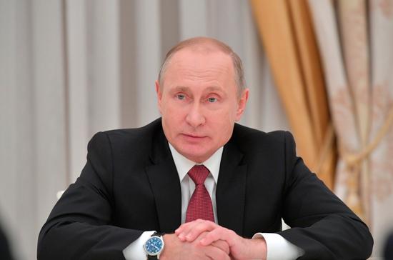 Путин поставил задачу повысить доступность жилья для россиян