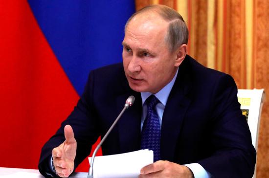 Путин: по итогам года ожидается выдача ипотечных кредитов на 2 трлн рублей