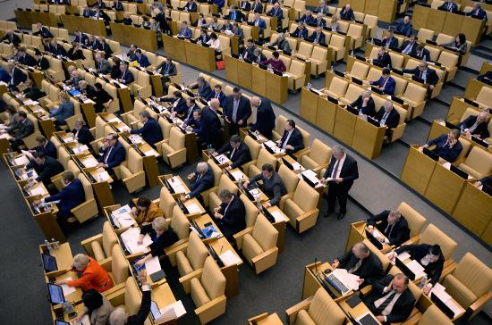 Госдума приняла инициативы президента о поддержке семей с детьми