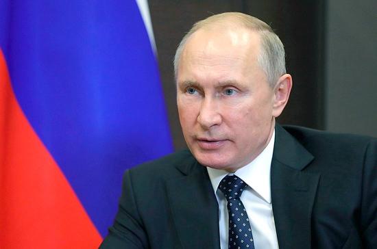 Путин поблагодарил ВС России за операцию в Сирии