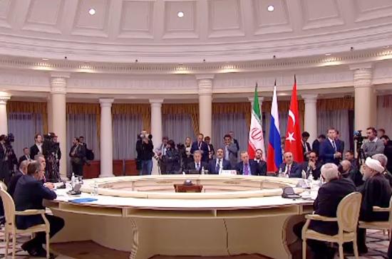 Конгресс национального диалога Сирии пройдёт в Сочи 29-30 января