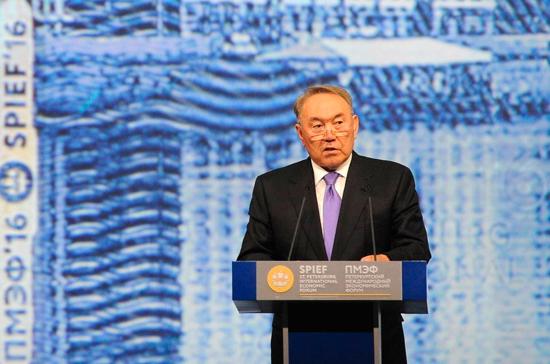 Назарбаев заявил о желании остаться в истории