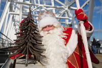Российский Дед Мороз впервые в истории пришёл в Крым посуху