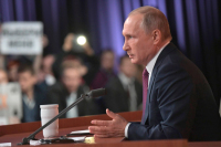 Путин рассказал о планах точечно бороться с террористами в Сирии