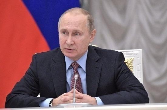 Путин назвал политической задачей России увеличение активности предпринимателей