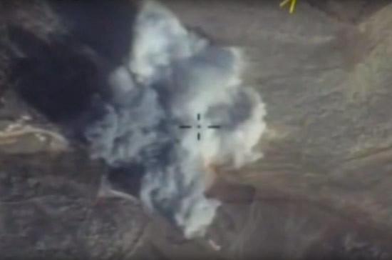Российские ВКС продолжают наносить удары по террористам в Идлибе и Хаме