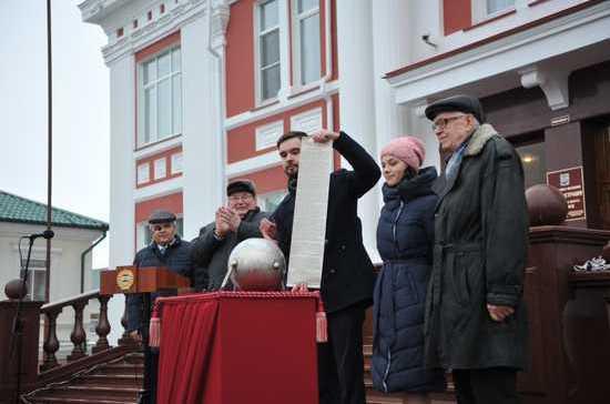 Капсулу с посланием потомкам из 1967 года вскрыли в Саранске