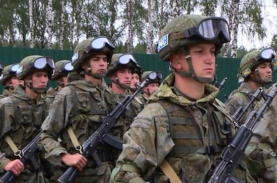 В России предложили установить День военной присяги