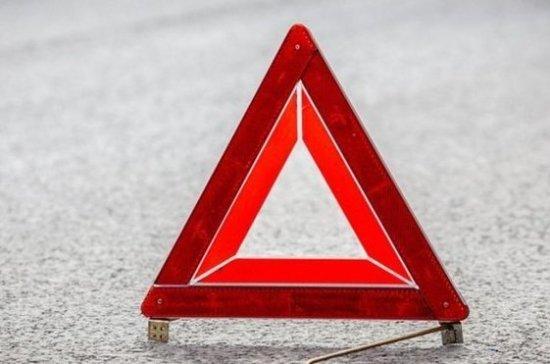 Два человека погибли вДТП наКалужском шоссе в столицеРФ