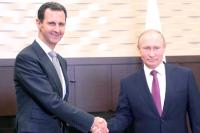 Россия продолжит помогать Сирии в защите суверенитета, заявил Путин