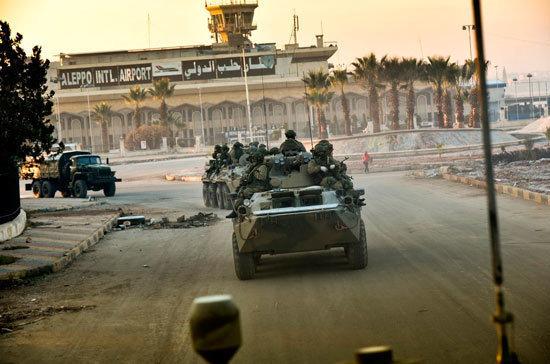 Сирийская армия отбила окружённую базу под Дамаском