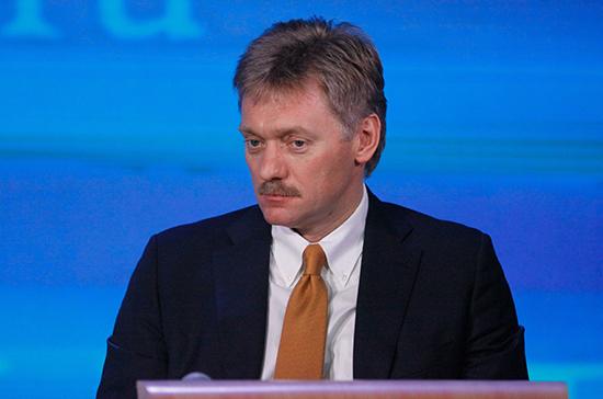 Песков рассказал, когда Путин посетит предвыборный штаб