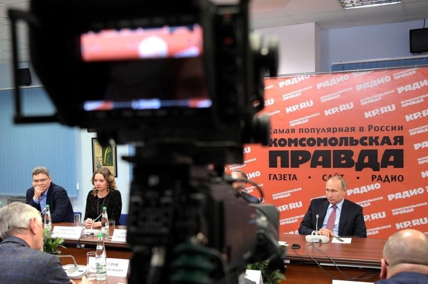 В России учредят звание «Заслуженный журналист»