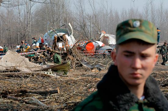 Что на самом деле произошло с самолетом Качиньского?