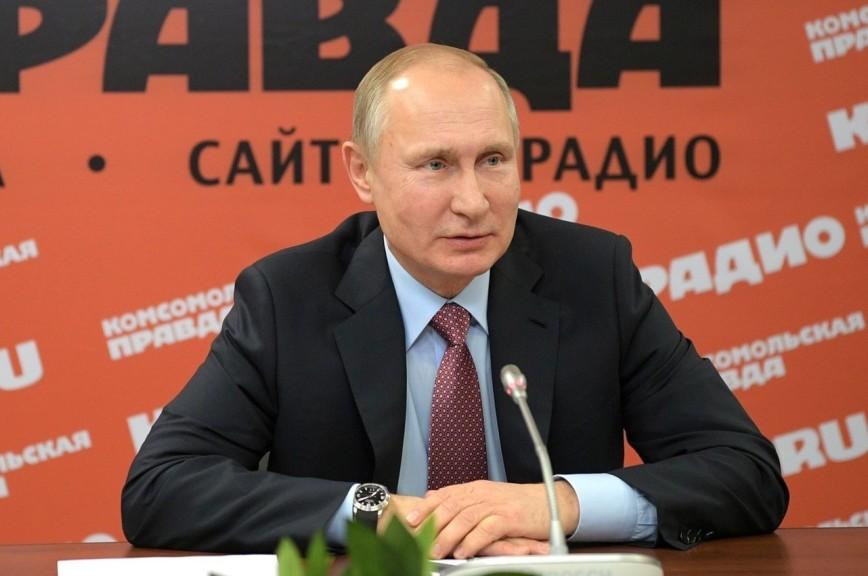Путин: признание российских СМИ иноагентами показывает отношение США к влиянию на их политику