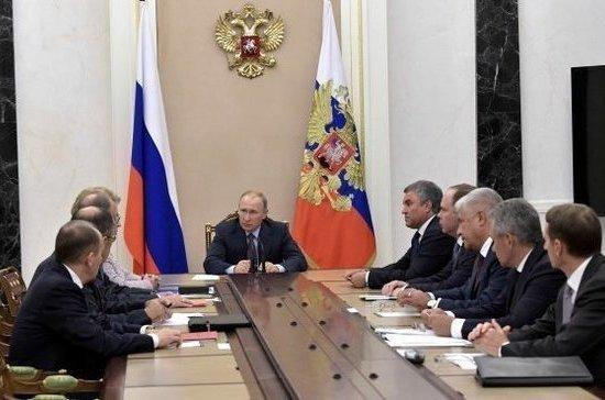 Путин обсудил с Совбезом ситуацию на Корейском полуострове