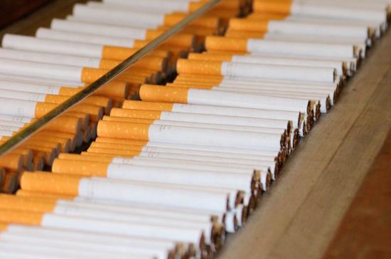 В России начался эксперимент по маркировке табачной продукции