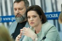 Костенко поздравила журналистов с Днём печати