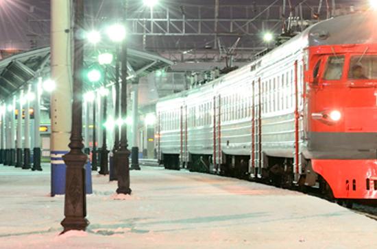 Из-за пожара в электричке на востоке Москвы эвакуированы около 1 тысячи пассажиров
