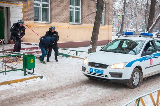 Полиция  задержала подозреваемого в серии крупных краж из элитных частных домов Подмосковья