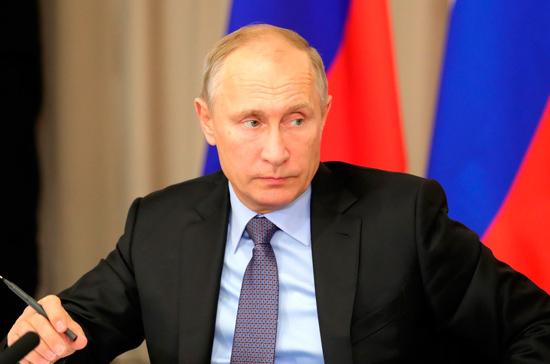 Путин осмотрел перинатальный центр вКоломне