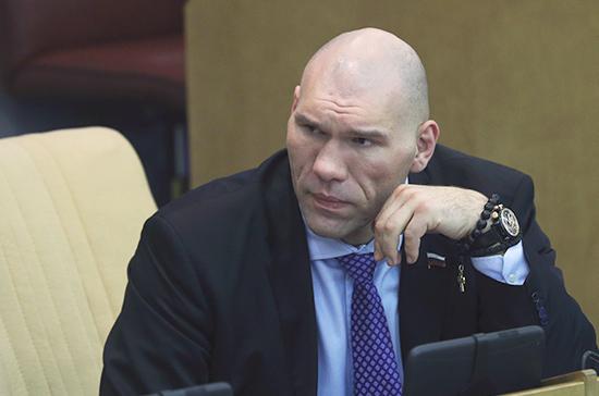 Николай Валуев примет участие в обсуждении Красной книги